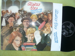 Status Quo 33t Vinyle Whatever You Want - Disco, Pop
