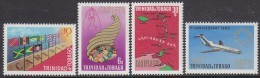 TRINIDAD, 1969 CARIFTA 4 MNH - Trinidad & Tobago (1962-...)