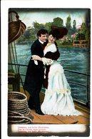 CPA - Carte Postale-Belgique -Couple Dansant Sur Un Bateau 1907-VM4671 - Couples
