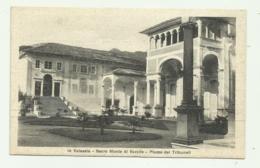 IN VALSESIA - SACRO MONTE DI VARALLO - PIAZZA DEI TRIBUNALI    VIAGGIATA FP - Vercelli