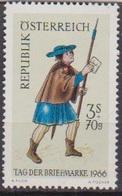 Österreich 1966 Nr.1229 ** Postfr. Tag Der Briefmarke ( 8675) Günstige Versandkosten - 1961-70 Ungebraucht