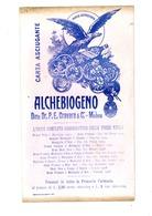 CARTA ASSORBENTE FARMACIA  MEDICINALE ALCHEBIOGENO - M