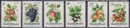 Österreich 1966 Nr.1223 - 1228  ** Postfr. Einheimische Obstsorten ( 8677) Günstige Versandkosten - 1961-70 Ungebraucht