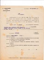 Courrier 1921 Armes Gros Exportation J. Gaucher, Saint-Etienne - Other