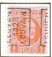 OCB N° 190 / OCVB N°  4136    LEUVEN 1928 LOUVAIN   A - Roulettes 1920-29
