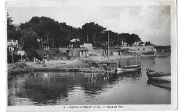 Saint-Aygulf.  Les Pointus Des Pêcheurs Dans Le Petit Port. - Saint-Aygulf