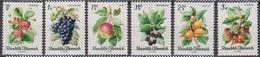 Österreich 1966 Nr.1223 - 1228  ** Postfr. Einheimische Obstsorten ( 8678) Günstige Versandkosten - 1961-70 Ungebraucht
