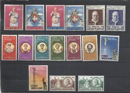 Vaticano. 1959. 5 Series Completas. - Sellos
