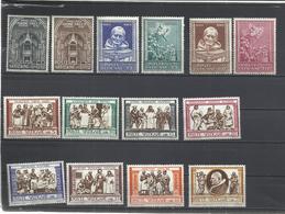 Vaticano. 1960. 3 Series Completas - Sellos