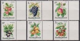 Österreich 1966 Nr.1223 - 1228  ** Postfr. Einheimische Obstsorten ( 8679) Günstige Versandkosten - 1961-70 Ungebraucht