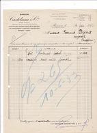 Avis De Crédit 1933 Banque Castelnau & Cie, Allées Paul-Riquet, Béziers - Bank & Insurance