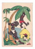 CARTOLINA POSTALE CARTE POSTALE EDITRICE NIGRIZIA VERONA  Illustratore JACOVITTI - Pubblicitari