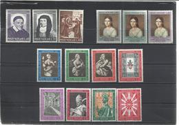 Vaticano. 3 Series Completas. - Sellos