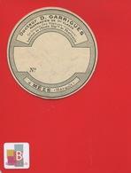 MEZE HERAULT Pharmacien GARRIGUES   ETIQUETTE ANCIENNE  Pharmacie  CIRCA 1900 - Andere