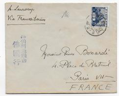 1929 - JAPAN - ENVELOPPE Via TRANSSIBERIEN => PARIS - 1926-89 Empereur Hirohito (Ere Showa)