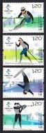 China 2018 Winter Olympic Games Beijing 2022 4v MNH - Inverno 2022 : Pechino