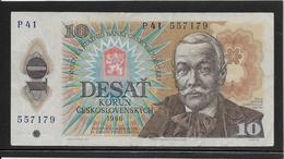 Tchécoslovaquie - 10 Korun - Pick N°94 - TTB - Tschechoslowakei
