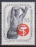 Österreich 1966 Nr.1217  ** Postfr. Intern. Kongreß Für Arbeitsmedizin ( 8683) Günstige Versandkosten - 1961-70 Ungebraucht