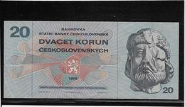 Tchécoslovaquie - 20 Korun - Pick N°92 - SUP - Czechoslovakia