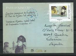 Francia. 2018. Napoleón. Tarjeta Máxima. Cancelación De Ajaccio. - 2010-...