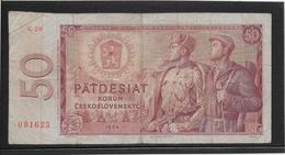 Tchécoslovaquie - 50 Korun - Pick N°90b - TB - Czechoslovakia
