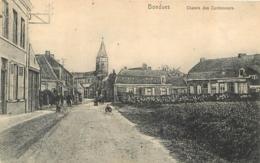 BONDUES CHEMIN DES CORDONNIERS  CARTE ALLEMANDE 1915 - France