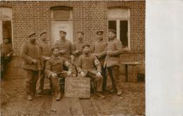 BAILLEUL CARTE PHOTO ALLEMANDE 1914/1915 - France