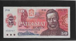 Tchécoslovaquie - 50 Korun - Pick N°96a - TB - Czechoslovakia
