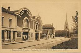 Salle De Cinema Tivoli à Mourmelon Rue General Gouraud Film Le Rappel - Cinema