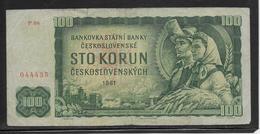 Tchécoslovaquie - 100 Korun - Pick N°91b - TB - Tschechoslowakei