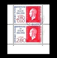 Frankreich / France: 'Marianne De Dulac - Marke Auf Marke, 1994', Mi. 3010+3011 A [MH34]; Yv. 2863+2864 [BC2865] Oo - France