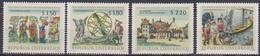 Österreich 1966 Nr.1218 - 1221  ** Postfr. Österreichische Nationalbibliothek ( 8685) Günstige Versandkosten - 1961-70 Ungebraucht