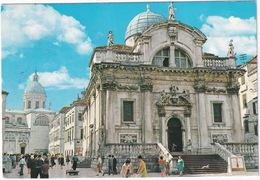 Dubrovnik - Barokna Crkva Sv. Vlaha - Baroque Church Of St. Blasius -  (Croatia, YU.) - Joegoslavië