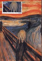 46394 Norway, Maximum 2013, Painting Of  Edvard Munch, Urlo, Scream, Heulen, Gueul - Arts