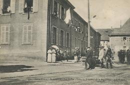 Poincaré Né à Bar Le Duc Visite Ecole St Amarin 9/8/1915  Envoi à Laugere Charenton 18 - Hommes Politiques & Militaires