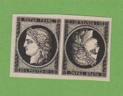 Reproduction N° 3 20 C Cérès Tête-bêche Neuf Sans Gomme - 1849-1850 Cérès