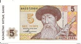 KAZAKHSTAN 5 TENGE 1993 UNC P 9 - Kazakhstán