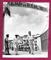Ancienne PHOTO Des Années 1950.. CAMP De P.I.M. N 13  ..VIET-NAM, INDOCHINE à Localiser - Lieux