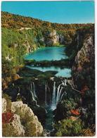 Plitvice Lakes - Lower Lakes / Plitvicka Jezera - Donja Jezera -  (YU.) - Joegoslavië