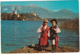 Bled  - Enfants Costumes National - Kinder Trachten -  (Slovenia, YU.) - Joegoslavië