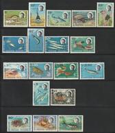 Territoire Britannique De L'Océan Indien - N°16/30+36/38 ** (1968-70) Poissons + Crustacés - Brits Indische Oceaanterritorium