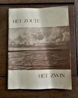 Boekje  HET ZOUTE -------- HET  ZWIN  In Het Nederlands - Aardrijkskunde