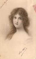 """""Petty Lady"" Nice Antique M.M. Vienne Nr. 297 Postcard - Mujeres"