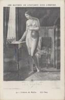 Arts - Peinture - Femme - Nue - Les Maîtres De L'Estampe Empire - Les Cartes à Jouer - Malerei & Gemälde