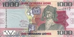 SIERRA LEONE 1000 LEONES 2013 UNC P 30 B - Sierra Leone