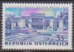 Österreich 1966 Nr.1215  ** Postfr. Intern. Messe Wels ( 8695) Günstige Versandkosten - 1961-70 Ungebraucht