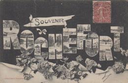 Rochefort-sur-Mer 17 -  Souvenir - Fantaisie Fond Noir - 1907 - Rochefort