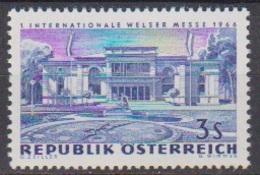 Österreich 1966 Nr.1215  ** Postfr. Intern. Messe Wels ( 8696) Günstige Versandkosten - 1961-70 Ungebraucht