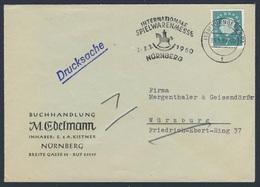 Deutschland Germany 1960 Brief Cover - Int. Spielwarenmesse, 3.-8.3.1960 - Nürnberg / Toy Fair / Speelgoedbeurs - Kindertijd & Jeugd