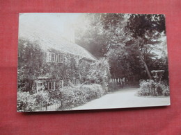 RPPC  Street House  Mrs Banks  Has Stamp & Cancel   Ref  3484 - To Identify